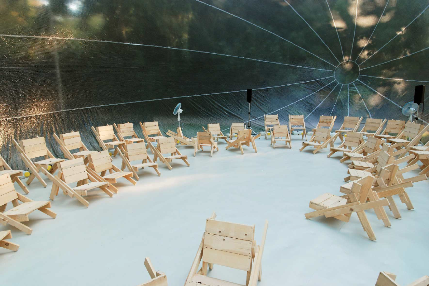 Spaces for Assemblies   Workshop at Akademie der Künste, Berlin
